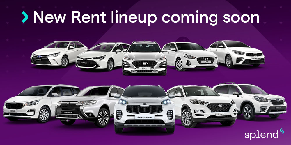 New car models coming soon to Splend Rent
