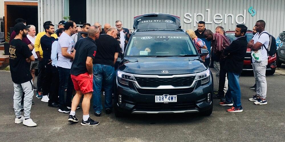 Kia Seltos Uber Fan Fleet Australian Open 2020