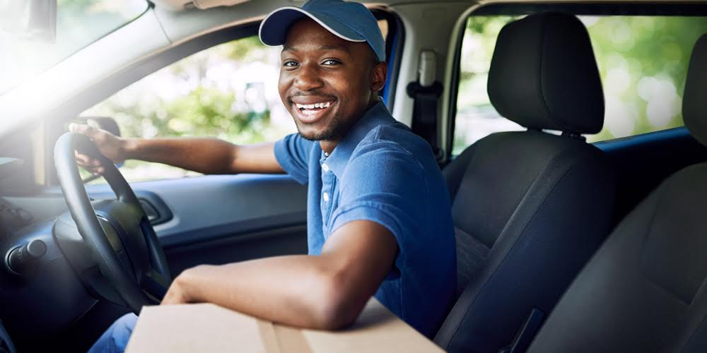Top-up opportunities – use your car for food delivery and parcel delivery