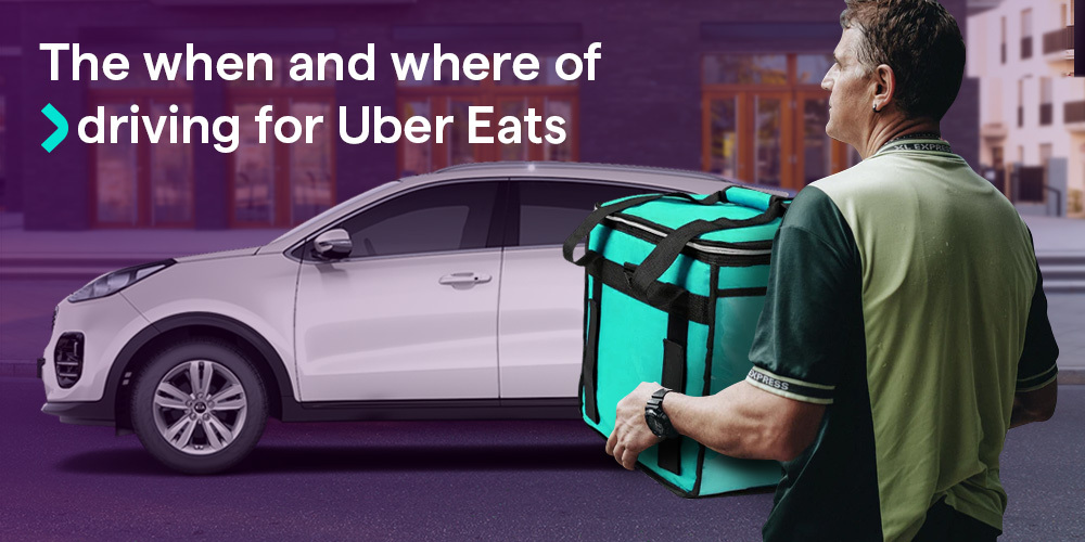 Uber Eats driving guide