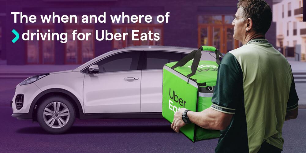 Uber Eats driving guide
