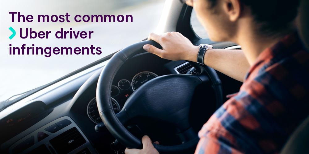 5 most common Uber driver infringements