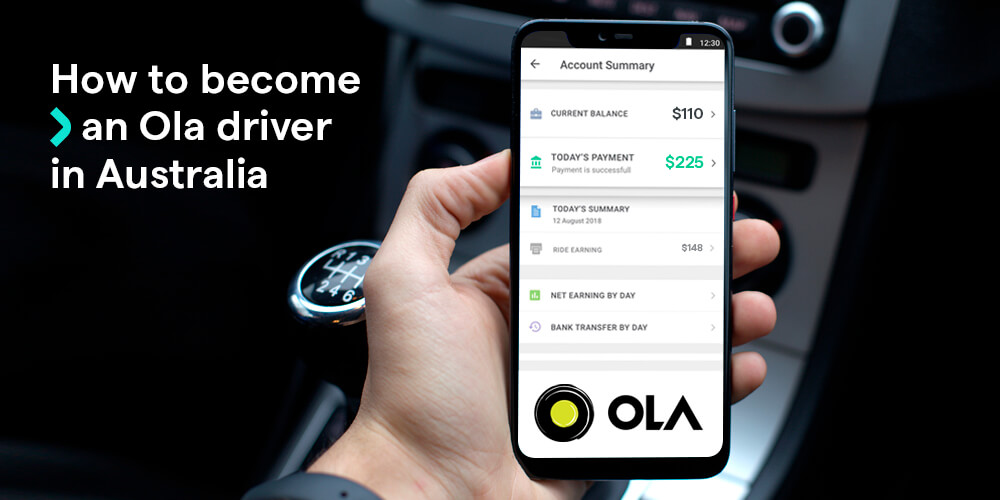 How to become an Ola driver in Australia