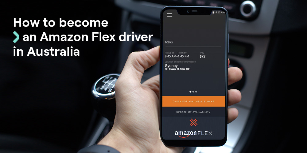 How to become an Amazon Flex driver in Australia