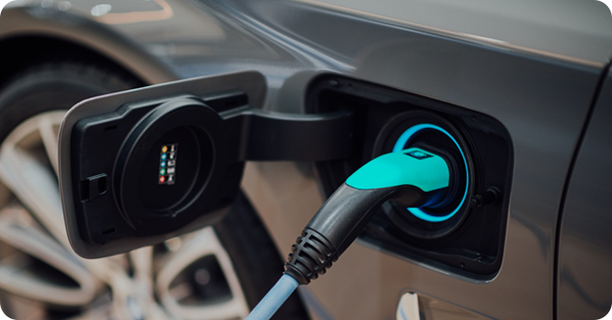 Electric car rental for Uber