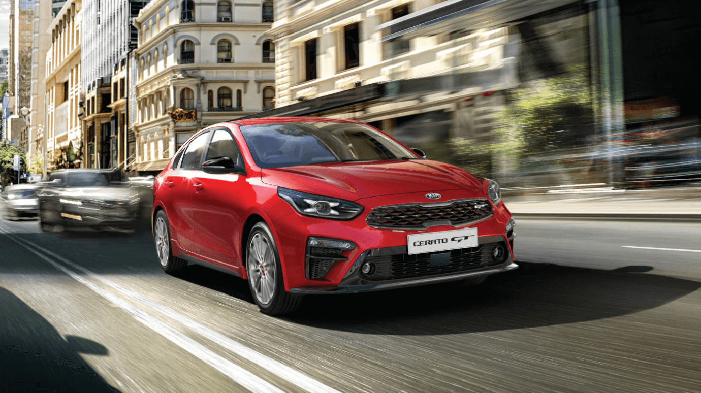 Try it or buy it, you're in good hands in a Kia Cerato S with Safety Pack