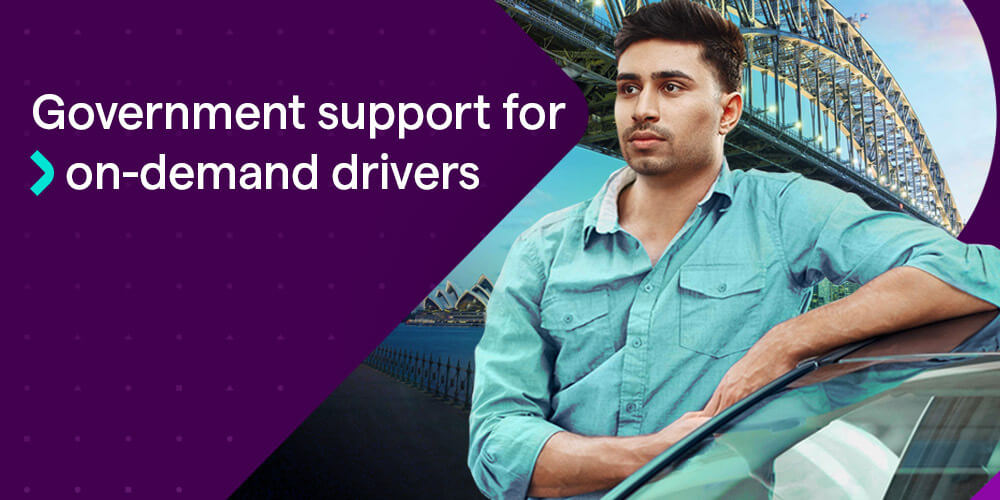 COVID-19 financial support for Uber drivers