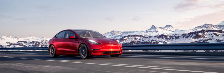 Rent a Tesla Model 3 for Uber
