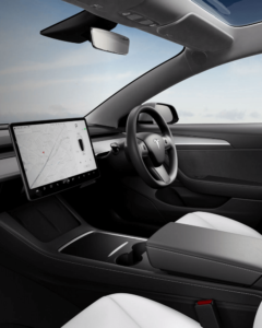 driving a Tesla for rideshare